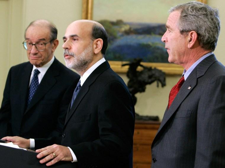 Bush Names Advisor Ben Bernanke As Greenspan's Successor