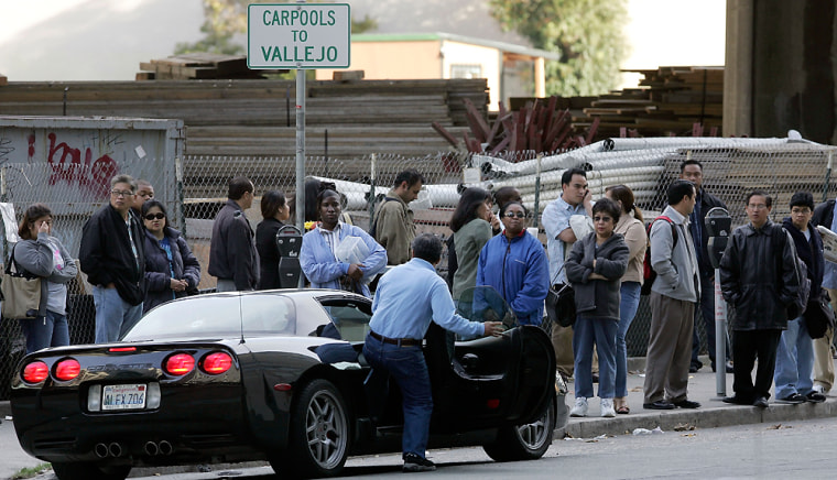 Commuters Carpool To Save Money And Time