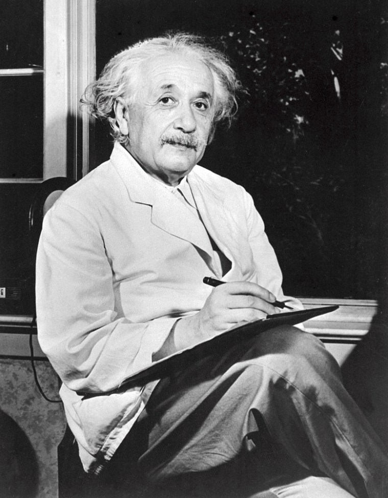 Undated portrait of German-born Swiss-US physicist