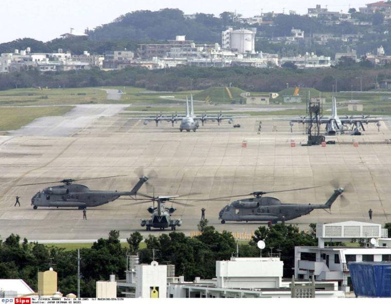 JAPAN OKINAWA US BASES