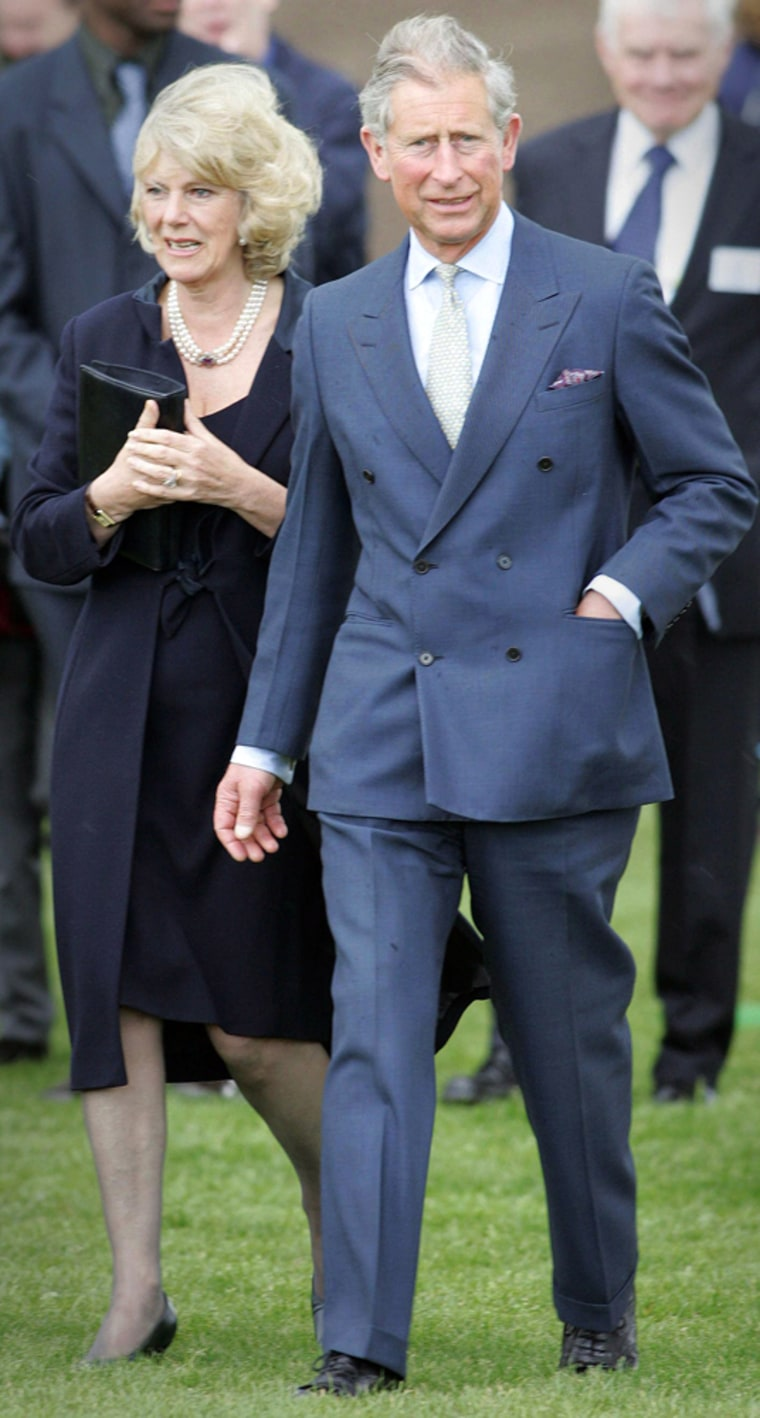(FILES)Britain's Prince Charles and Cami
