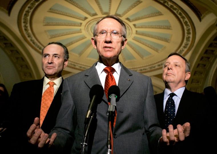 Senate Holds Rare Closed Door Session