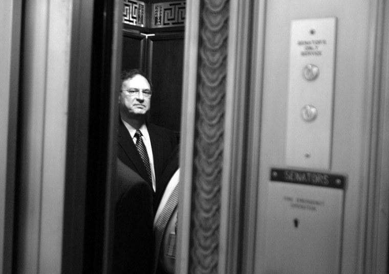Supreme Court Nominee Samuel Alito Visits Capitol Hill