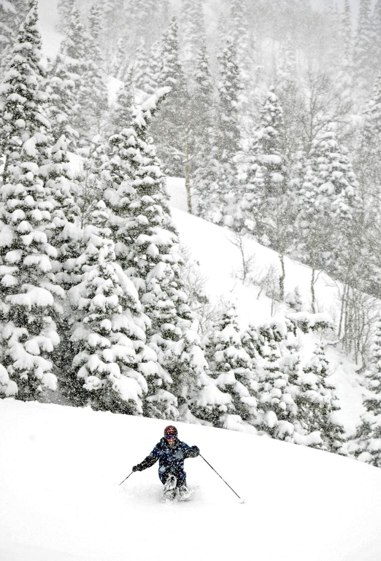 Heavy May Snows Blanket Utah's Mountain Regions