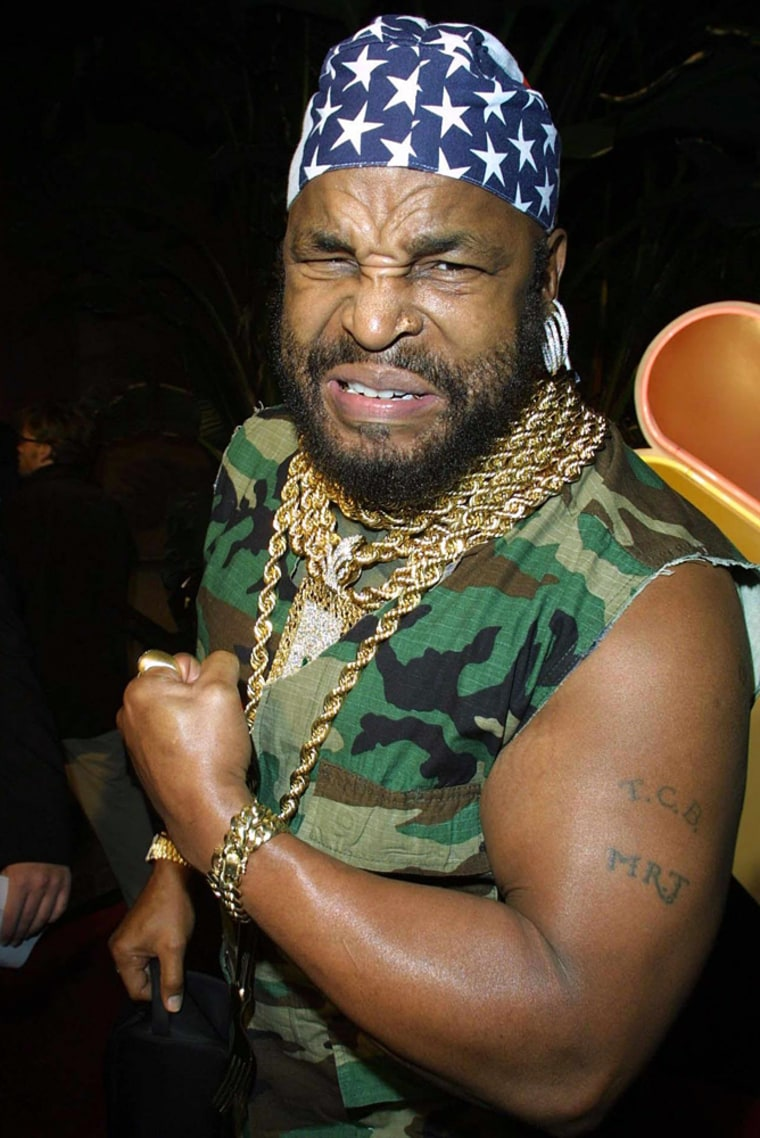 Pity the lost driver! Laurence Tureaud, who played the tough-talking Mr. T in the former television series The A-Team, has leant his voice to a car navigation system.