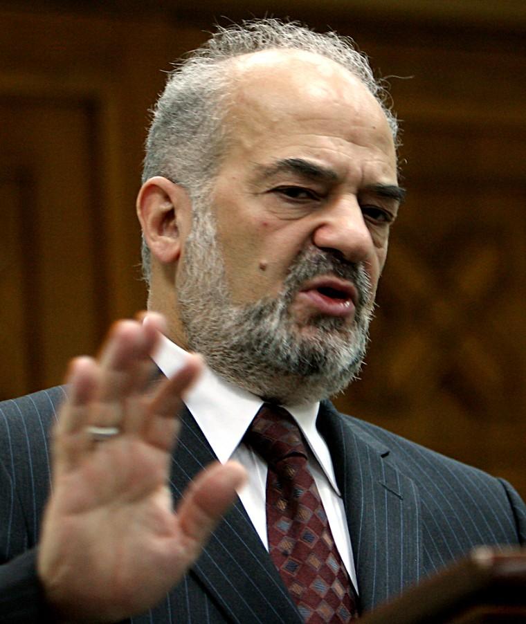 Iraqi Prime Minister Ibrahim al-Jaafari ignored complaints of abuse, a leading Sunni politician said.