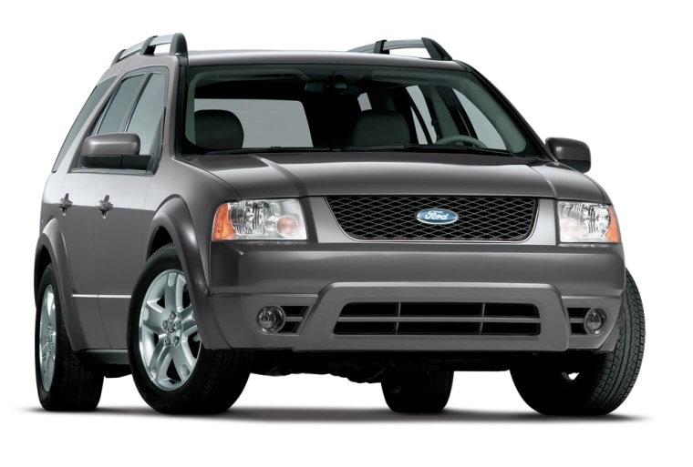 Part of the recall involves the Ford Freestyle crossover vehicles, the 2006 model of which is shown here.