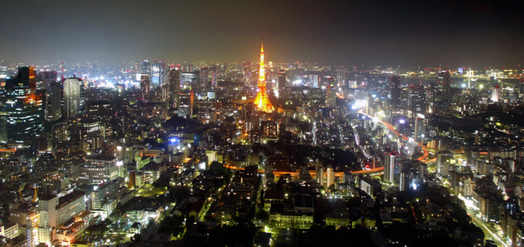 Tokyo from the Sky
