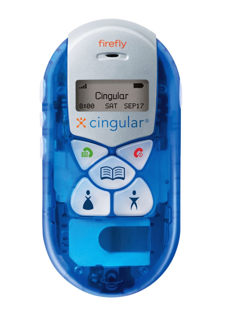 Cingular will sell the Firefly phone for $49.99 after a rebate and with various service contract options.