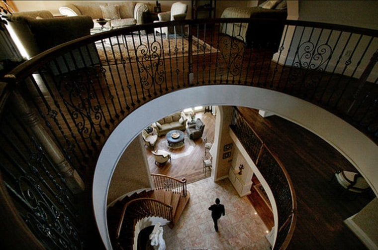 An inside look at Michael Iacovacci and his wife Debbie King's 15,000 square foot home in Great Falls, Va. The average home in the U.S. has grown each decade since the 1950's.