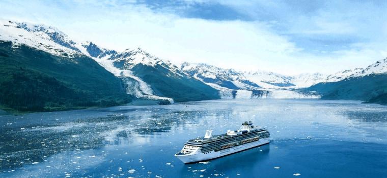 The Coral Princess in Alaska