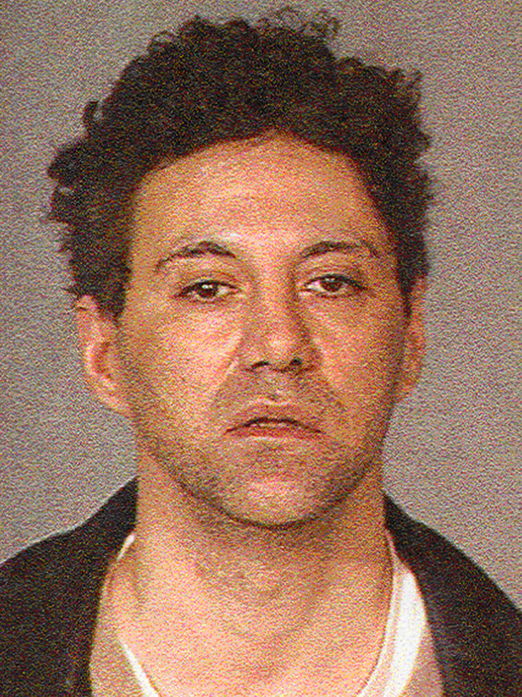 Peter Braunstein appears in this undated photo provided by the New York Police Department Friday, Nov. 18, 2005. Detectives say they want to question Braunstein, 41, about a Halloween night episode in which an armed man bound and molested a woman in her Manhattan apartment after starting a fire and posing as a firefighter coming to her rescue.