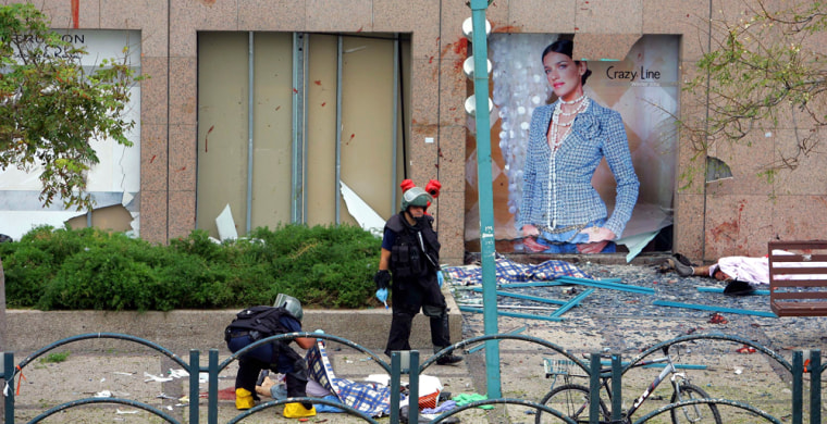 Bomb Explodes In Netanya Shopping Mall