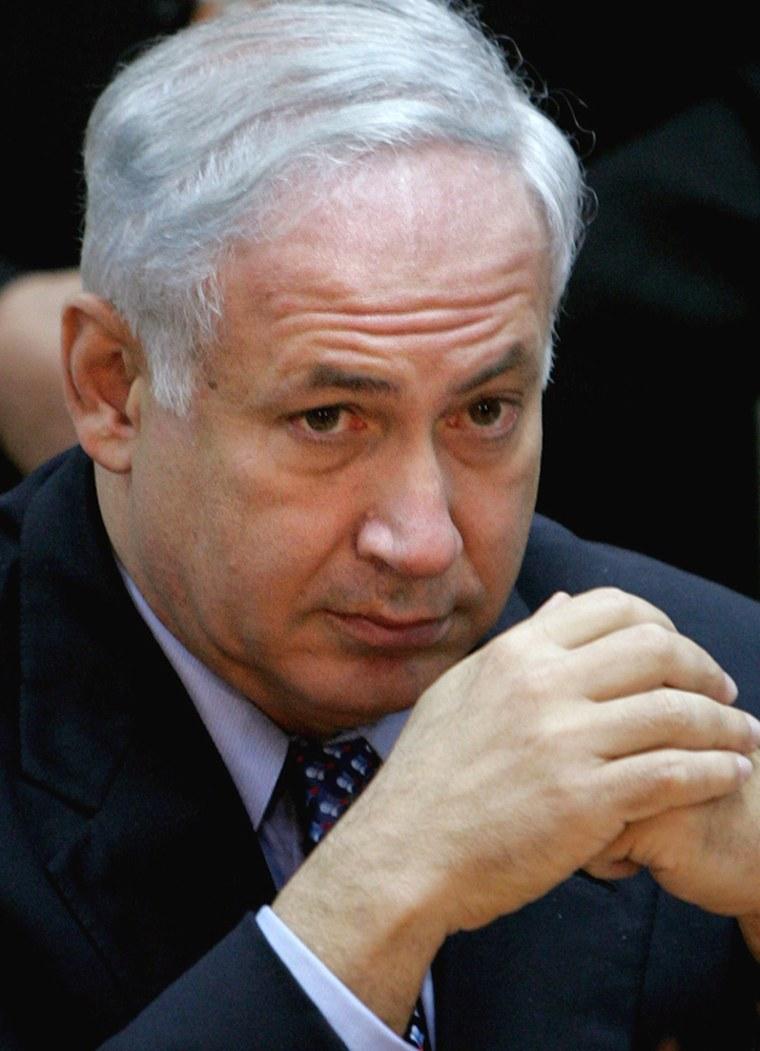 FormerIsraeli Prime Minsiter Benjamin Netanyahu has said he believes Iran poses a nuclear threat to his country.