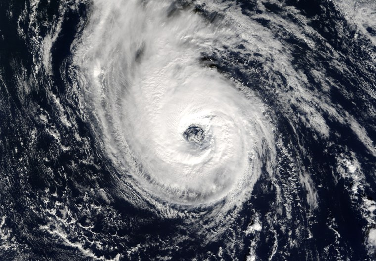 NASA's Terra satellite snapped this picture of Hurricane Epsilon on Nov. 29, toward the very end of the official 2005 hurricane season. The current outlook calls for 17 named tropical storms next year, compared with this year's 26.