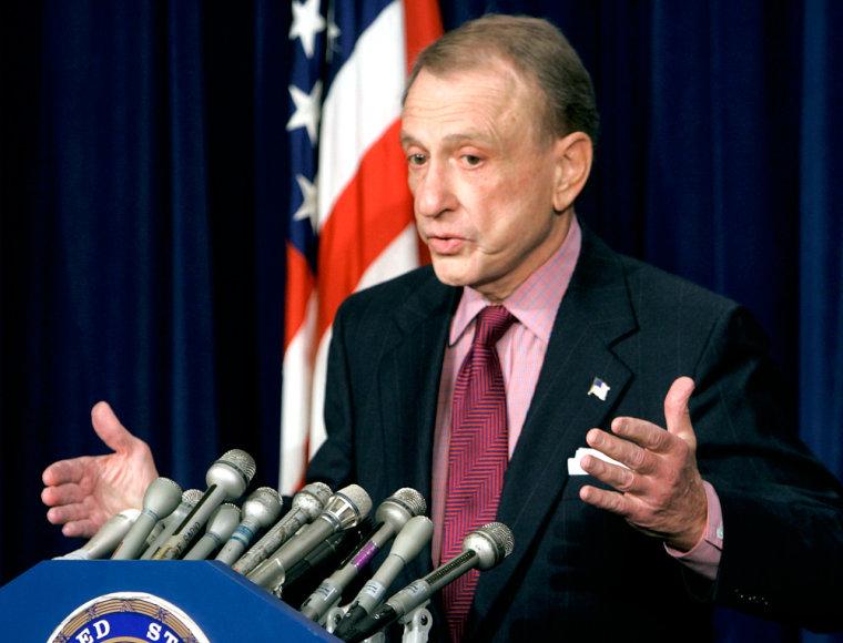 Senator Spector Discusses Patriot Act Reauthorization Deal