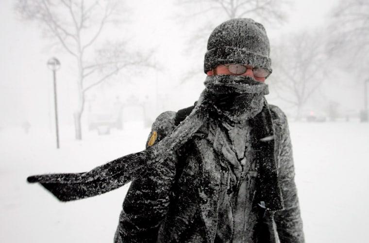 Fresh Snow Blankets The Northeast