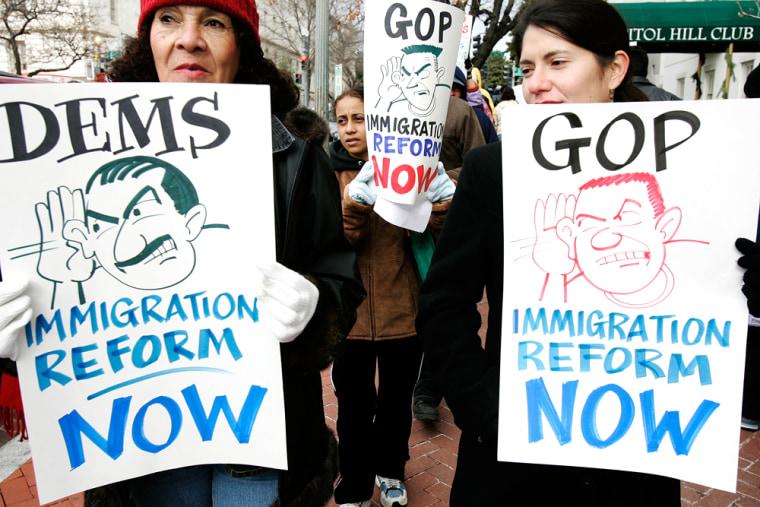 Immigrant Coalition Protests Congressional Anti-Immigrant Proposals
