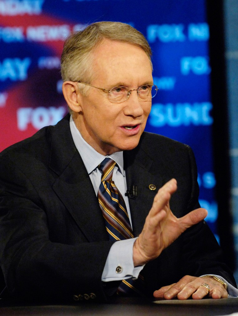 Senate Minority Leader Harry Reid, D-Nev., wants his state's Democratic caucus to follow Iowa in 2008.