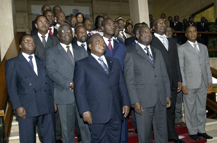 Ivory Coast's President Laurent Gbagbo (
