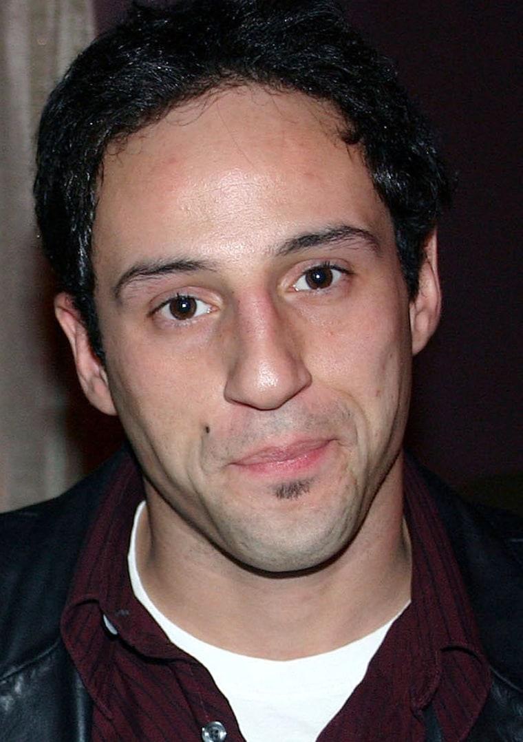 Lillo Brancato, Jr., in a photo taken before his arrest