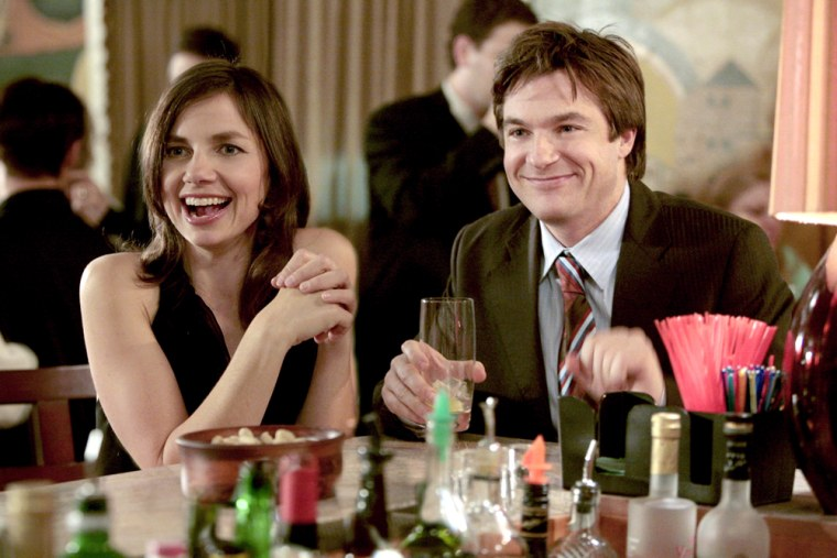 """This photo, supplied by Fox Broadcasting, shows Michael, right, played by Jason Bateman  meeting Nellie Bluth, played by his sister and guest star Justine Bateman, in the episode of """"Arrested Development"""" in  a special full hour on Monday, Jan. 9 , 2006. on FOX. The sitcom is essentially a lame duck after Fox announced in November that it wouldn't order a full third season.  The show is pulling out all the stops with guest stars, hour-long specials and many plot twists.(AP Photo/ Fox Broadcasting,Isabella Vosmikova)"""