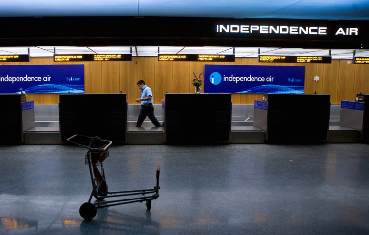 Budget Carrier Independence Air Shuts Down