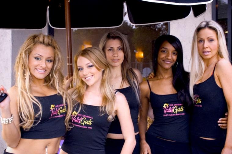 VALET GIRLS TEAM