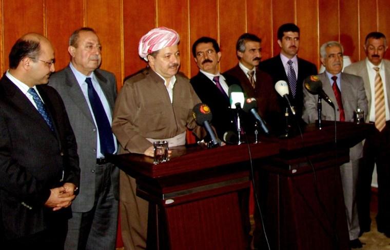 Leader of the Kurdistan Democratic Party