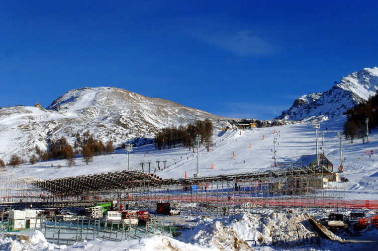 The Alpine Ski Olympic track of Sestriere, Italy, will hostthe Alpine Ski Men's races of the XX Olympic Winter games.