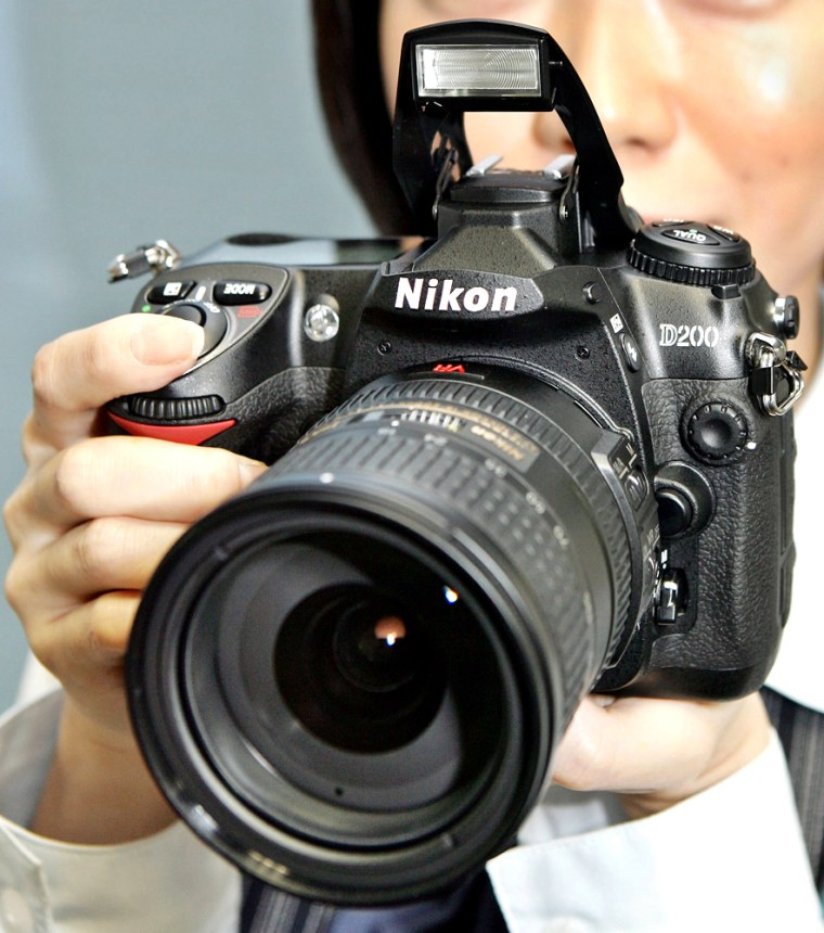 An employee for Japanese camera giant Ni