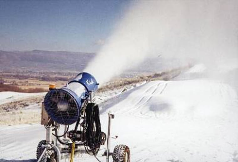 Native Americans and environmental groups are battling a ski resort's proposal to use treated wastewater for snowmaking.
