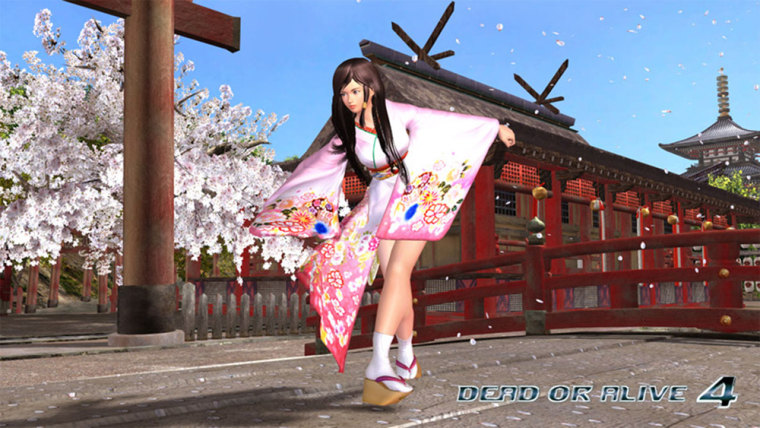 """Kokoro, a young geisha in training,isone of more than a dozen fighters that gamers can choose to play in """"Dead or Alive 4."""""""