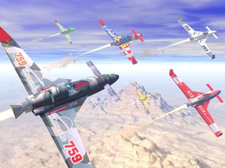 The Rocket Racing League envisions fielding an array of rocket planes in a series of NASCAR-style spectator events. Demonstration flights are planned in October.