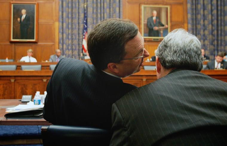 Ex-Fema Head Michael Brown Testifies At House Katrina Committee