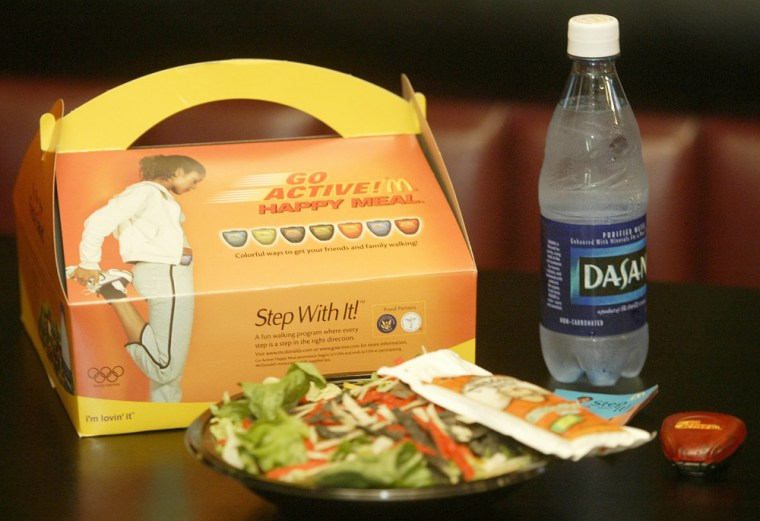 News Conference Is Held To Mark Rollout Of McDonalds Adult Happy Meals