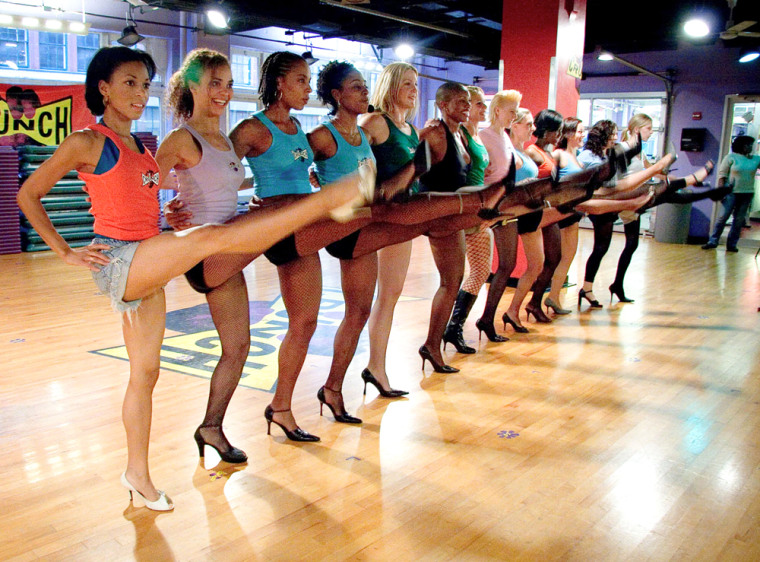 Stiletto Strength is the newest class offered at Crunch Fitness Gyms across the U.S.