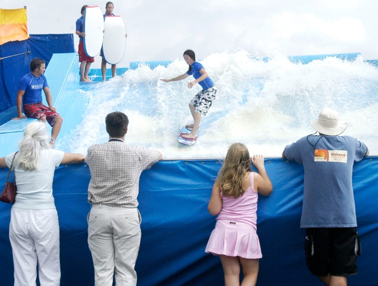 FIRST-EVER SHIPBOARD SURF PARK