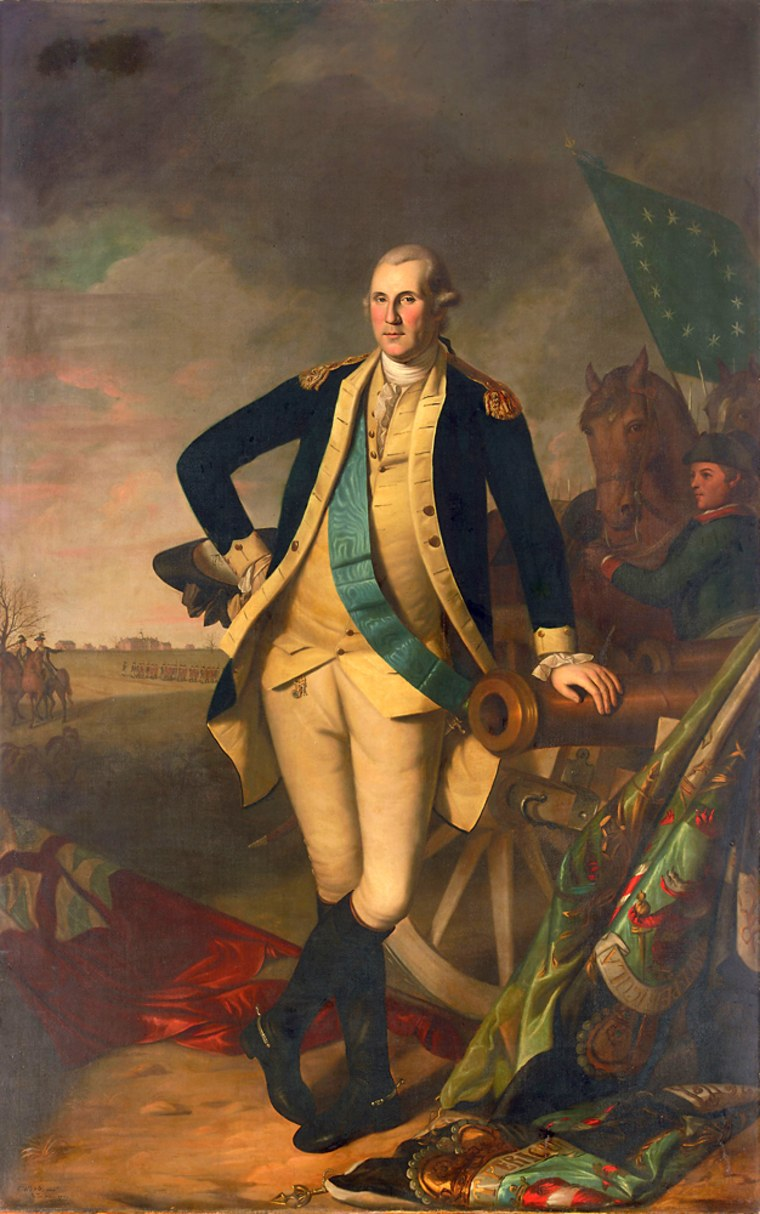 A painting of George Washington by Charles Willson Peale, the premier portrait artist of the American Revolutionary period, was expected to fetch between $10 million and $15 million at Christie's auction house on Saturday, but it sold for more than $20 million.