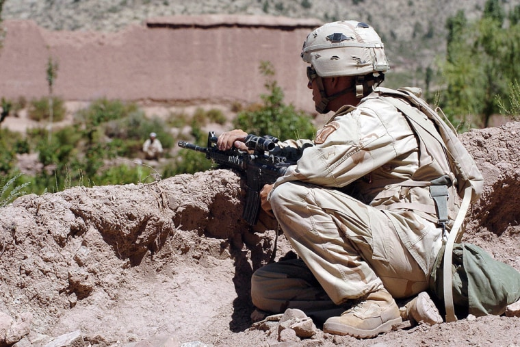 """TO GO WITH \""""AFGHANISTAN-US-MILITARY-SECU"""
