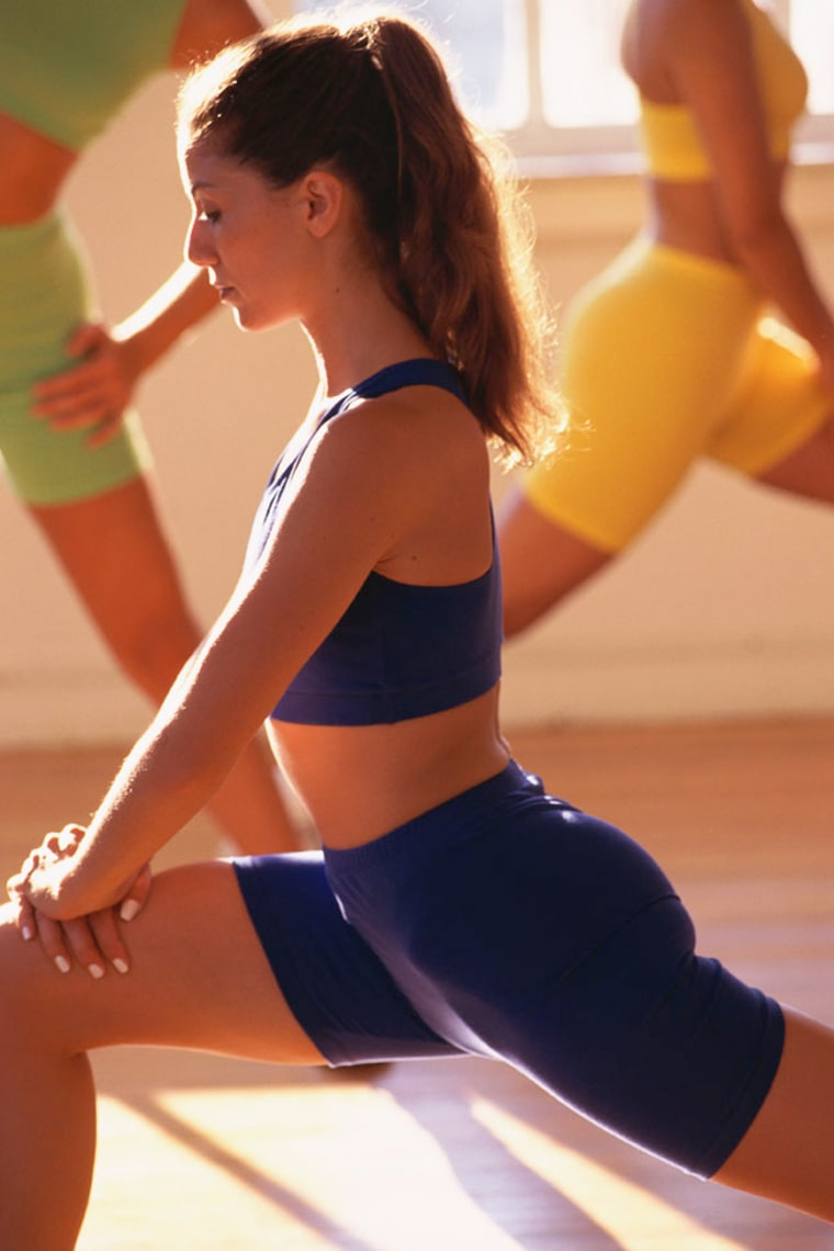 Lunges are one of the keys to building a better butt, personal trainers say.