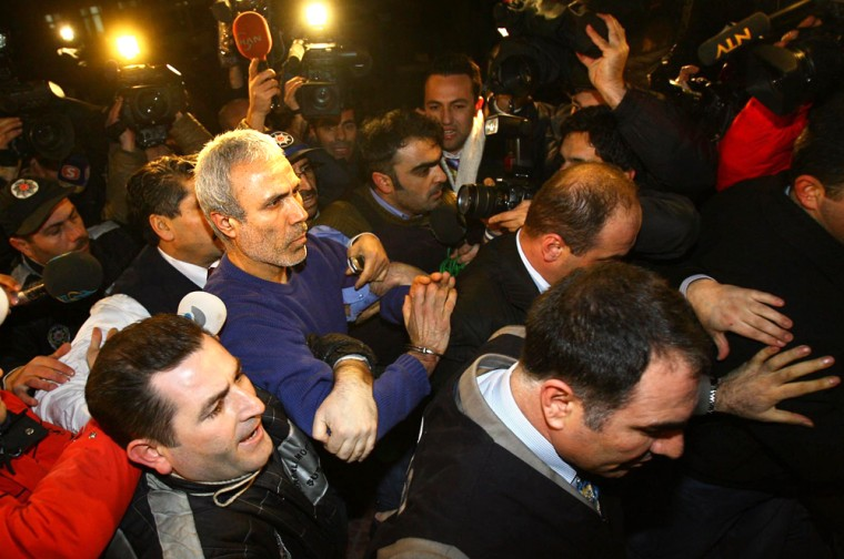 Man who shot Pope John Paul II in 1981 arrives at police department in Istanbul