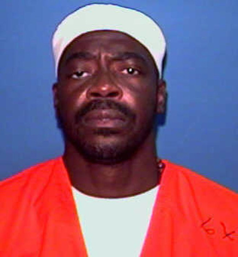 Clarence Hill, seen here in an undated photo, was scheduled to be executed on Tuesday, but was granted a stay by theSupreme Court.
