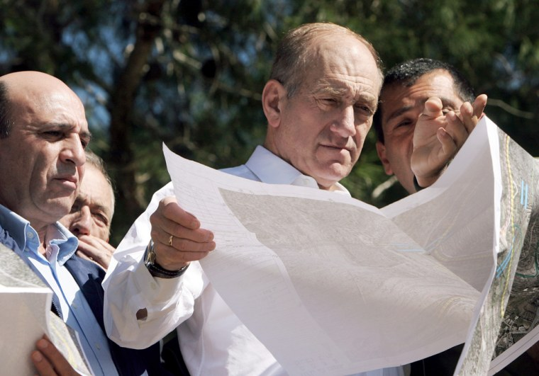 Acting Prime Minister Ehud Olmert review