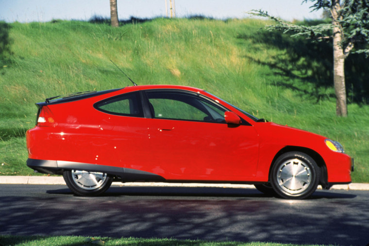 The Honda Insight was the first hybrid vehicle on sale in the U.S.