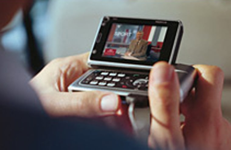 In addition to being a cell phone, the N92 is truly a portable multimedia center.
