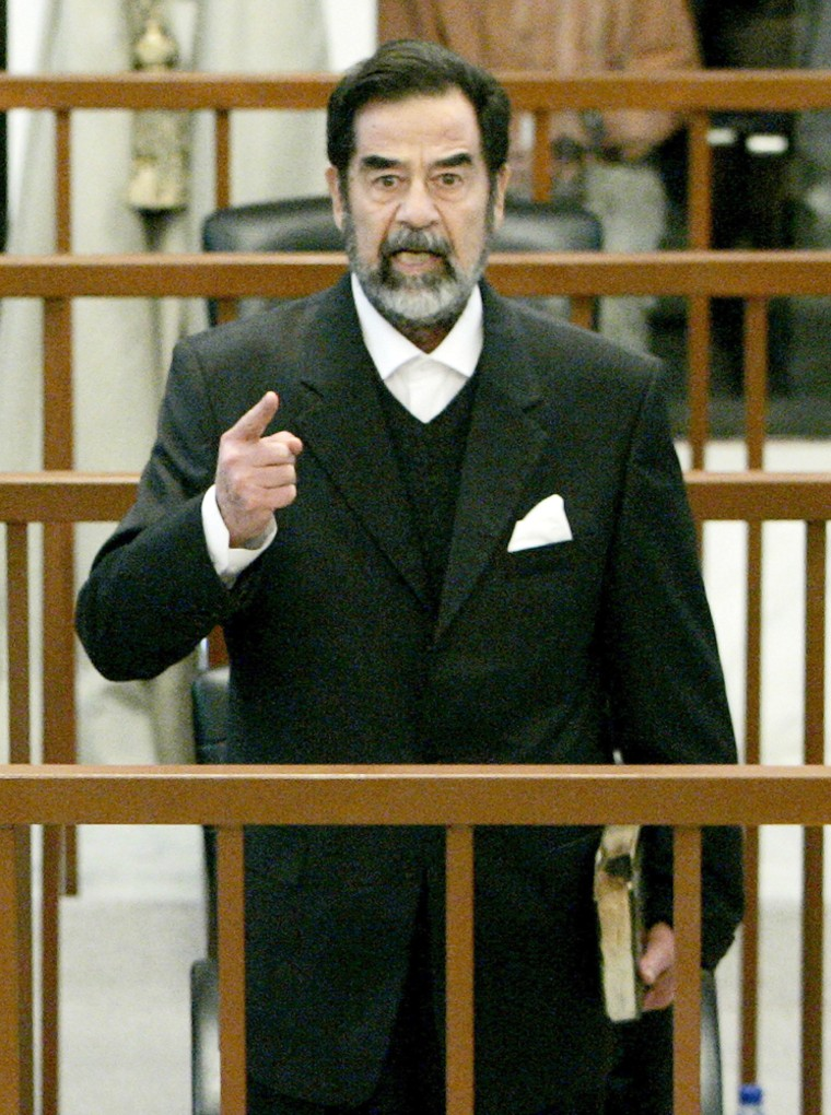 Saddam Hussein Ordered Back Into Court