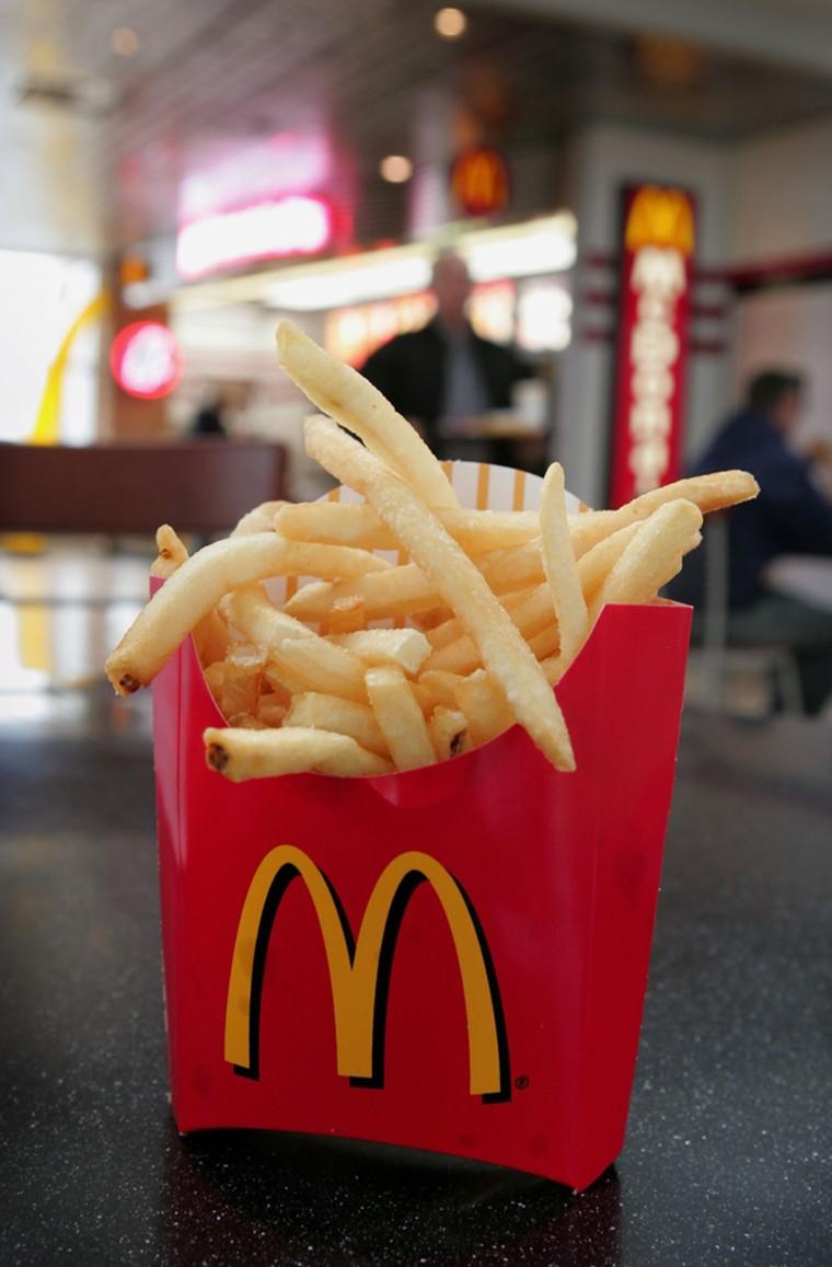 McDonald's Reveals Presence Of Possible Allergens In Fries