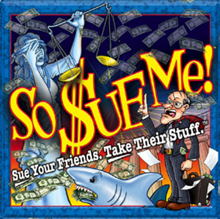 So Sue Me! by New York Game Factory costs $29.95.