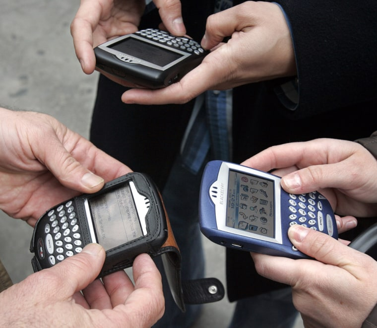 More than 3 million Americans are BlackBerry users.